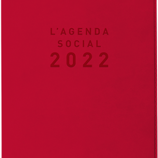 Agenda Social 2022 Rouge